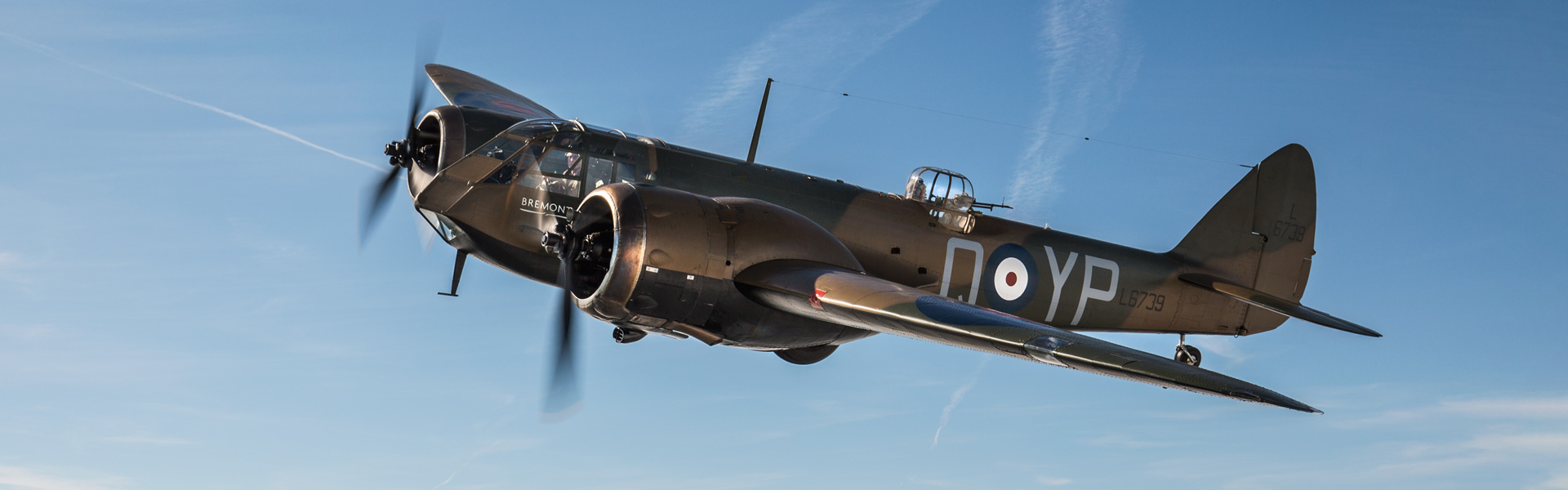 Aerial-Collective-Blenheim-in-flight