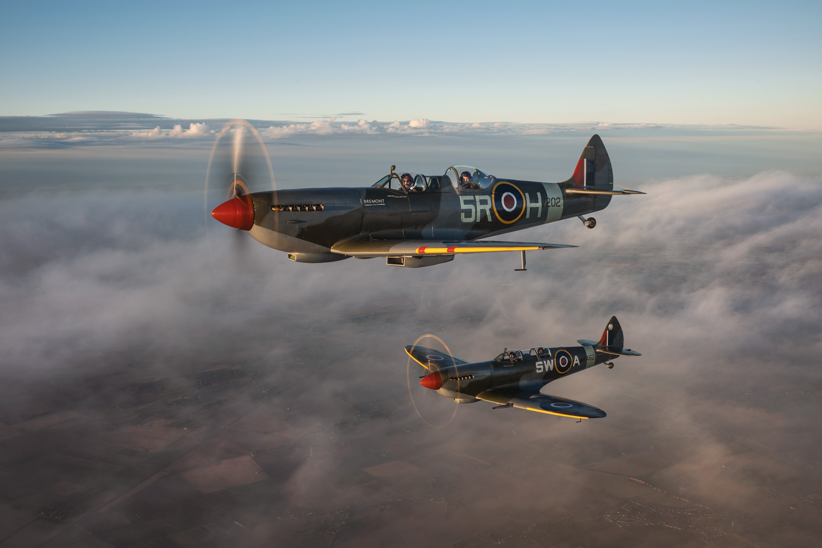 spitfire-above-the-clouds